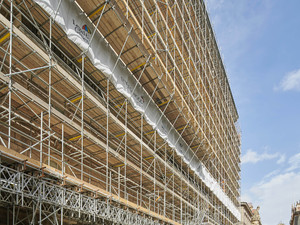 Major construction scaffolding projects by Crossway Scaffolding