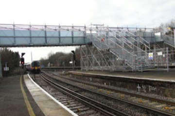 Temporary bridging system from Crossway Scaffolding