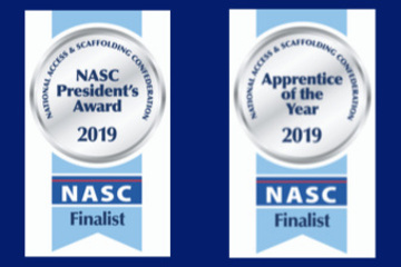Crossway Scaffolding has been shortlisted in the NASC awards 2019